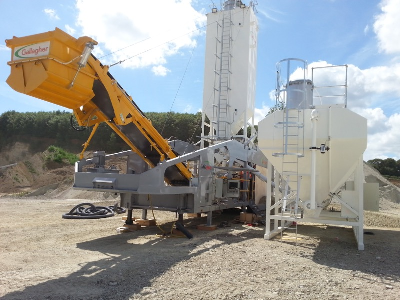 Rapidmix Mobile Continuous Mixing Plant / Pugmill