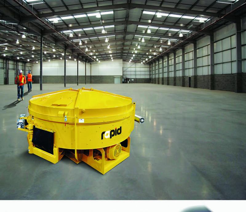 Rapid Pan mixer HERO(warehouse)