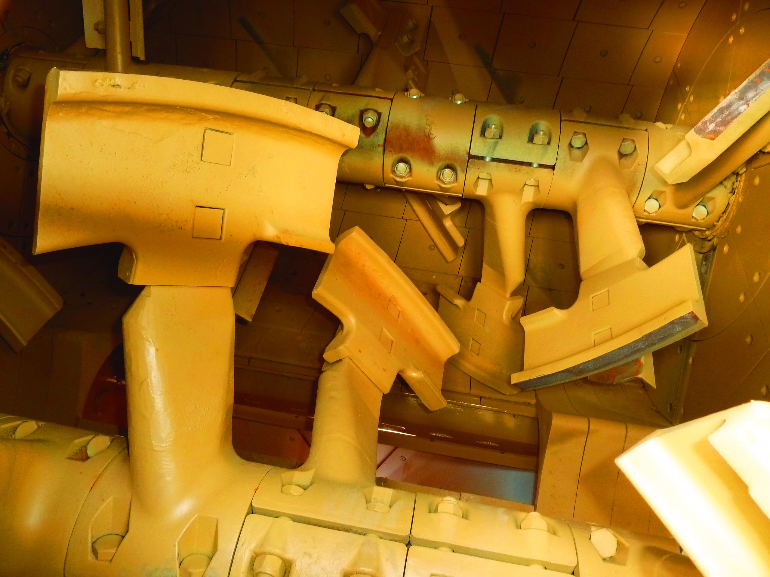 Transbatch Twin Shaft Mixing Chamber