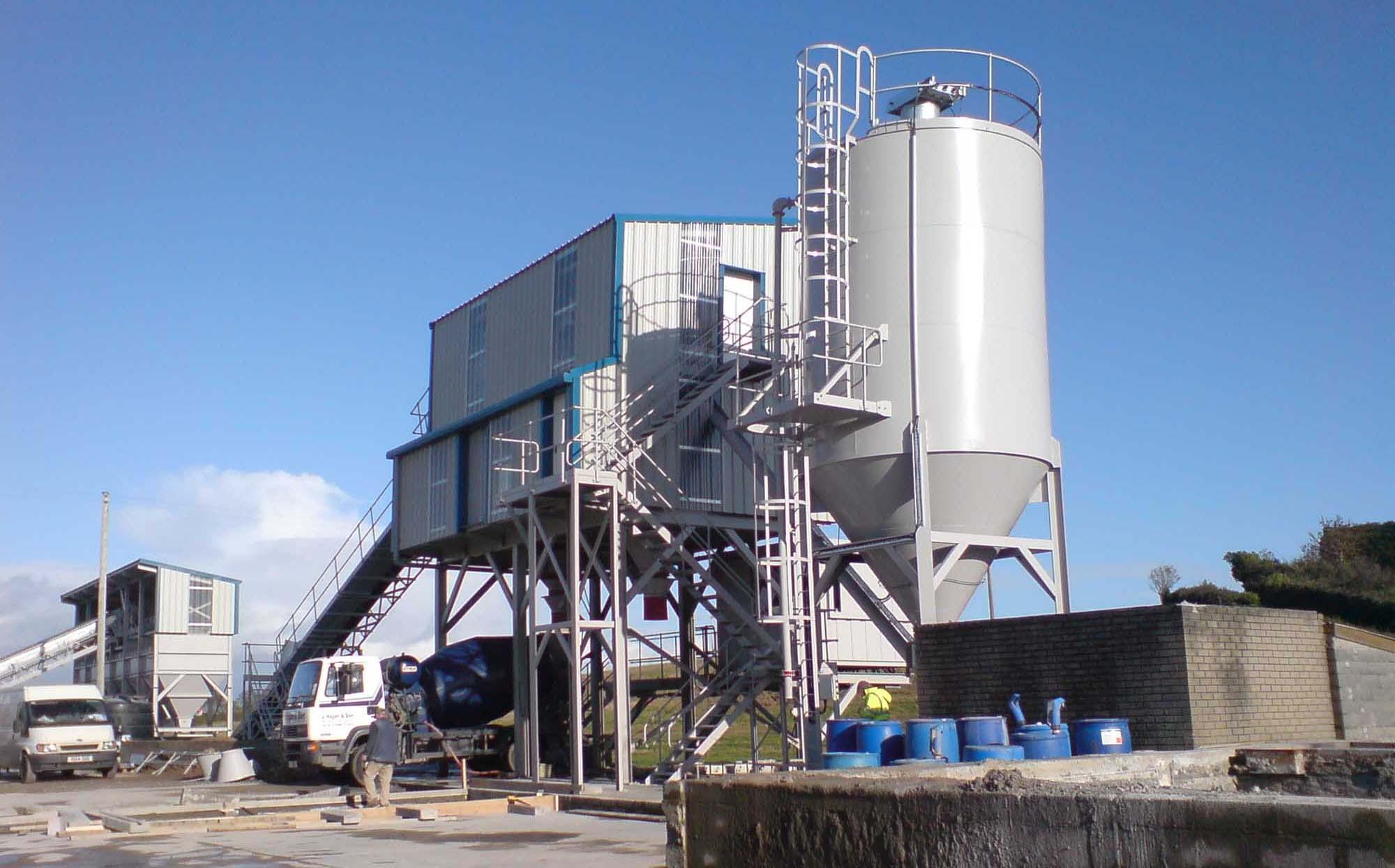 Static Concrete Batching Plant