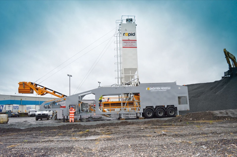Mobile Continuous Mixing Plant - Rapidmix - Gibsons -