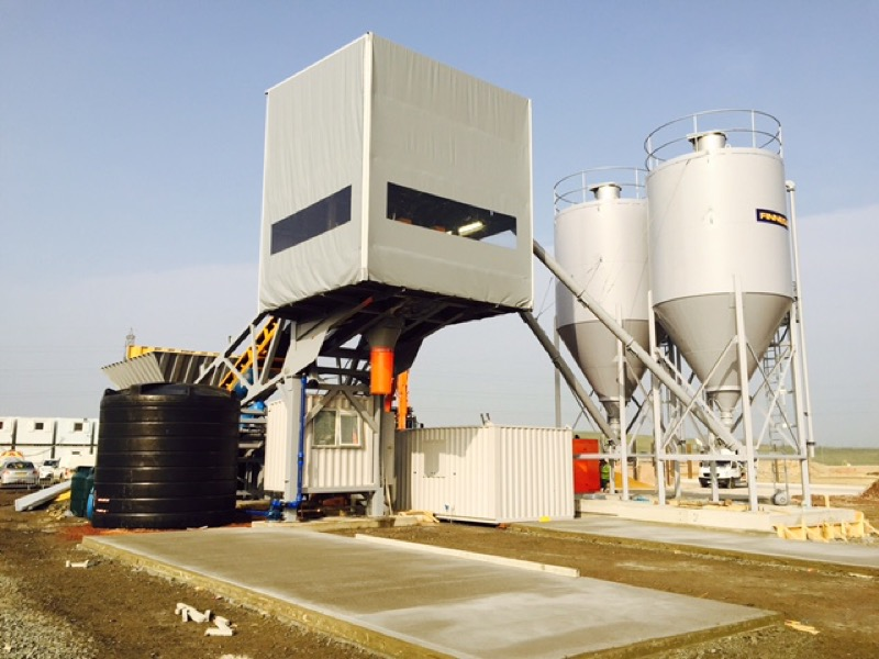 Transbatch Compact Mobile Batching Plant