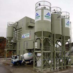 Bardon Concrete Aggregate Industries Static Concrete Batching Plant Ready Mix Concrete