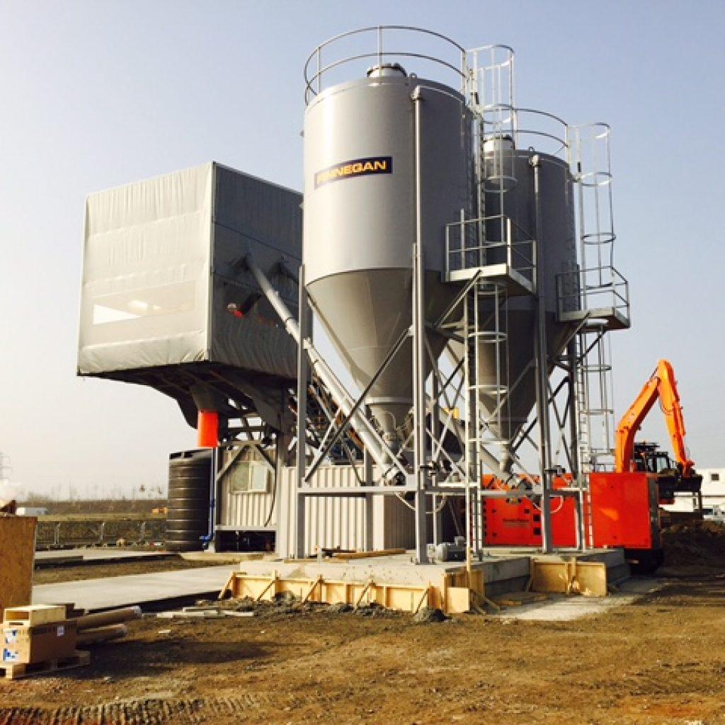 Mobile Concrete Batching Plant Debugging, Mobile Concrete