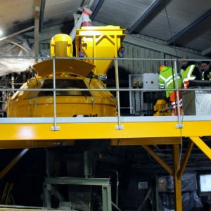 Rapid planetary concrete mixer lagan concrete roof tile production