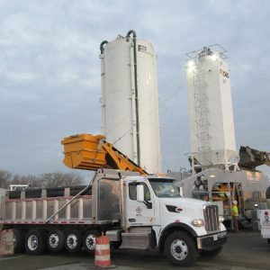 Rapidmix Mobile Continuous Concrete Mixing Plant Pugmill Andale NIT North Gate improvement, Hampton, VA, (CCP)