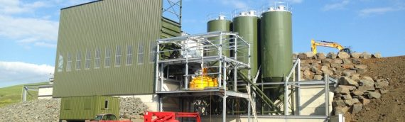 Rapid's Bespoke Concrete Batching Plant Facilitates Collier Group's Entrance into Concrete Industry.