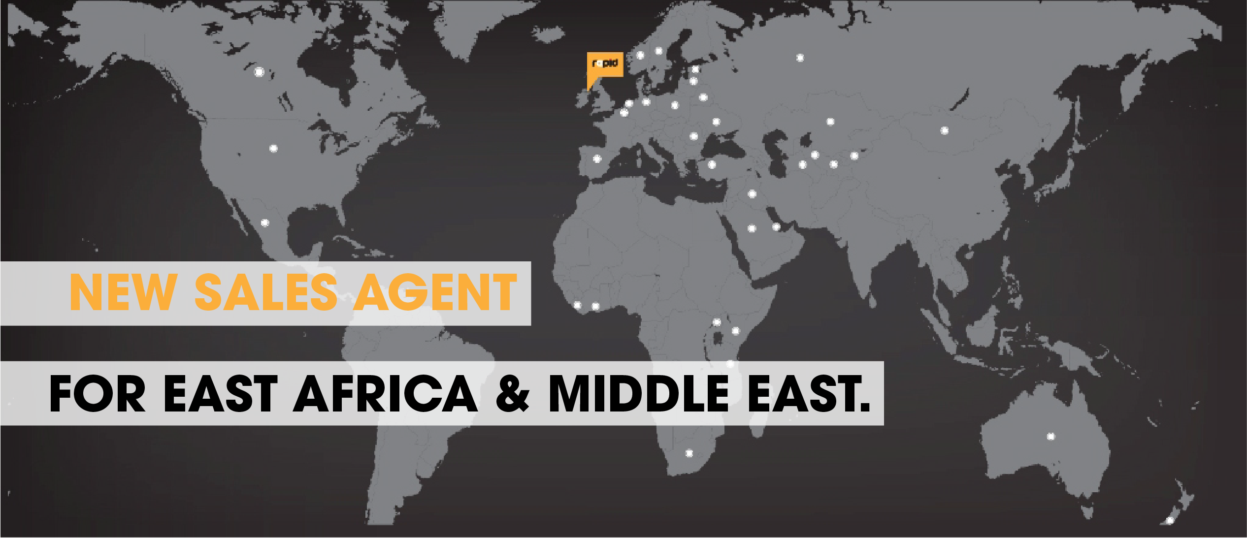 New Sales Agent For East Africa And Middle East Rapid
