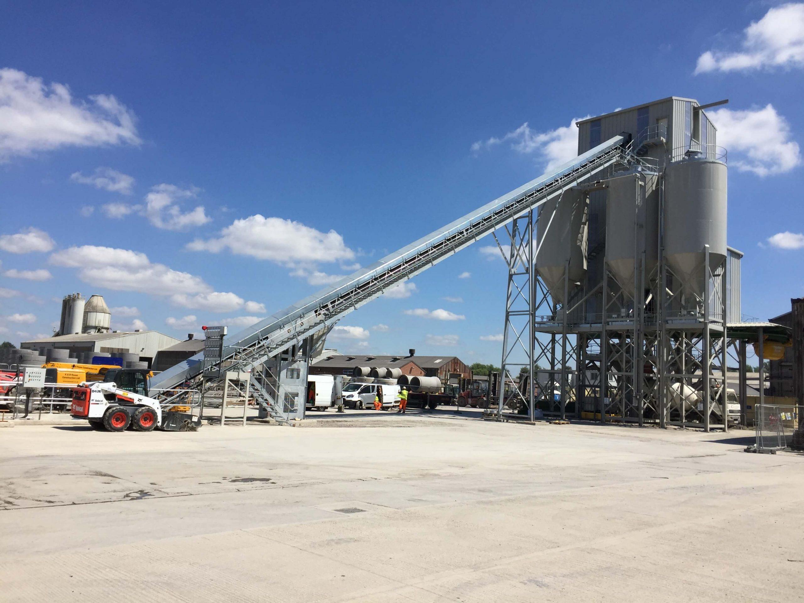 static concrete batching plant rapid international stanton bonna precast concrete