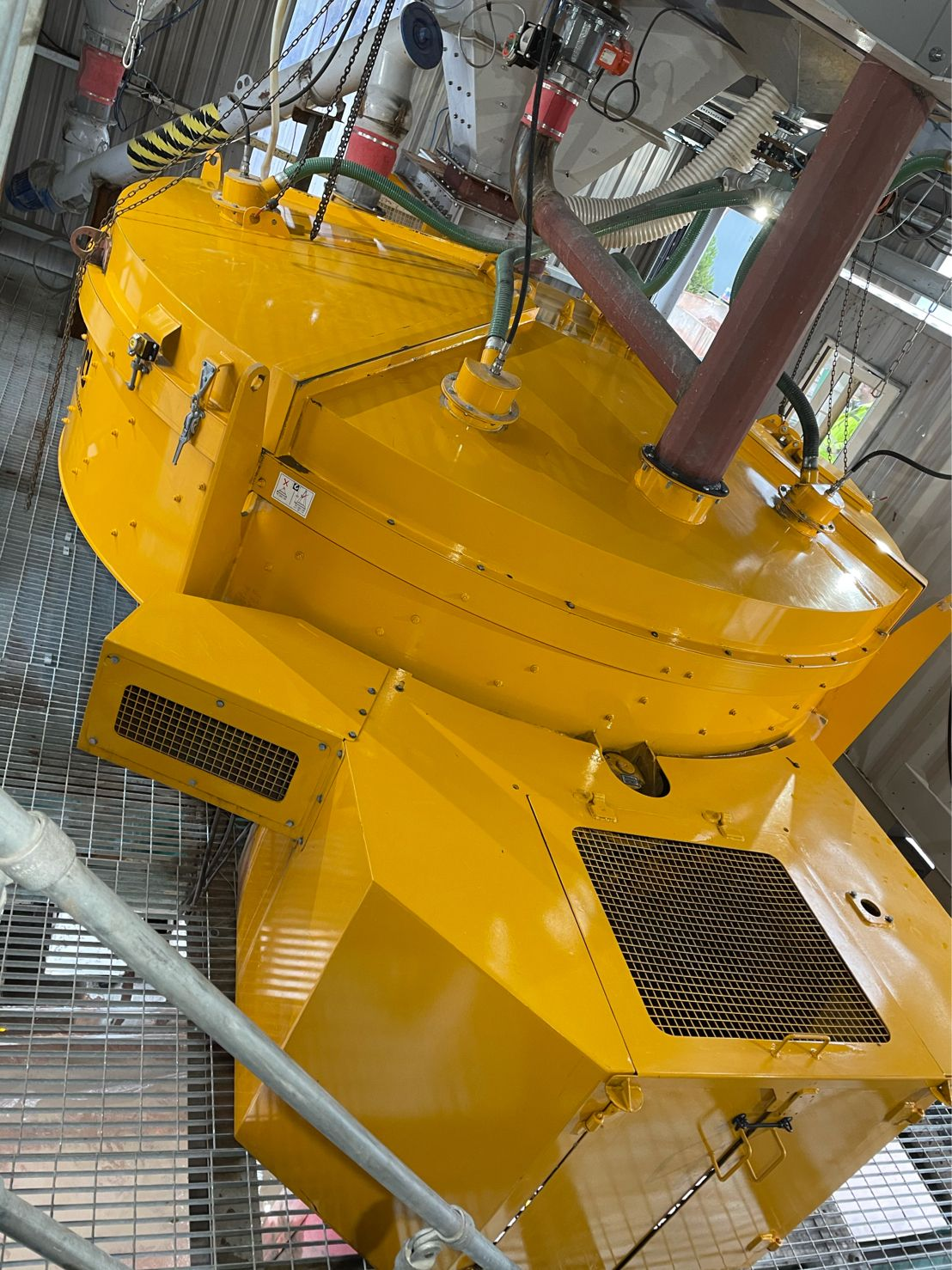 rapid pan concrete mixer