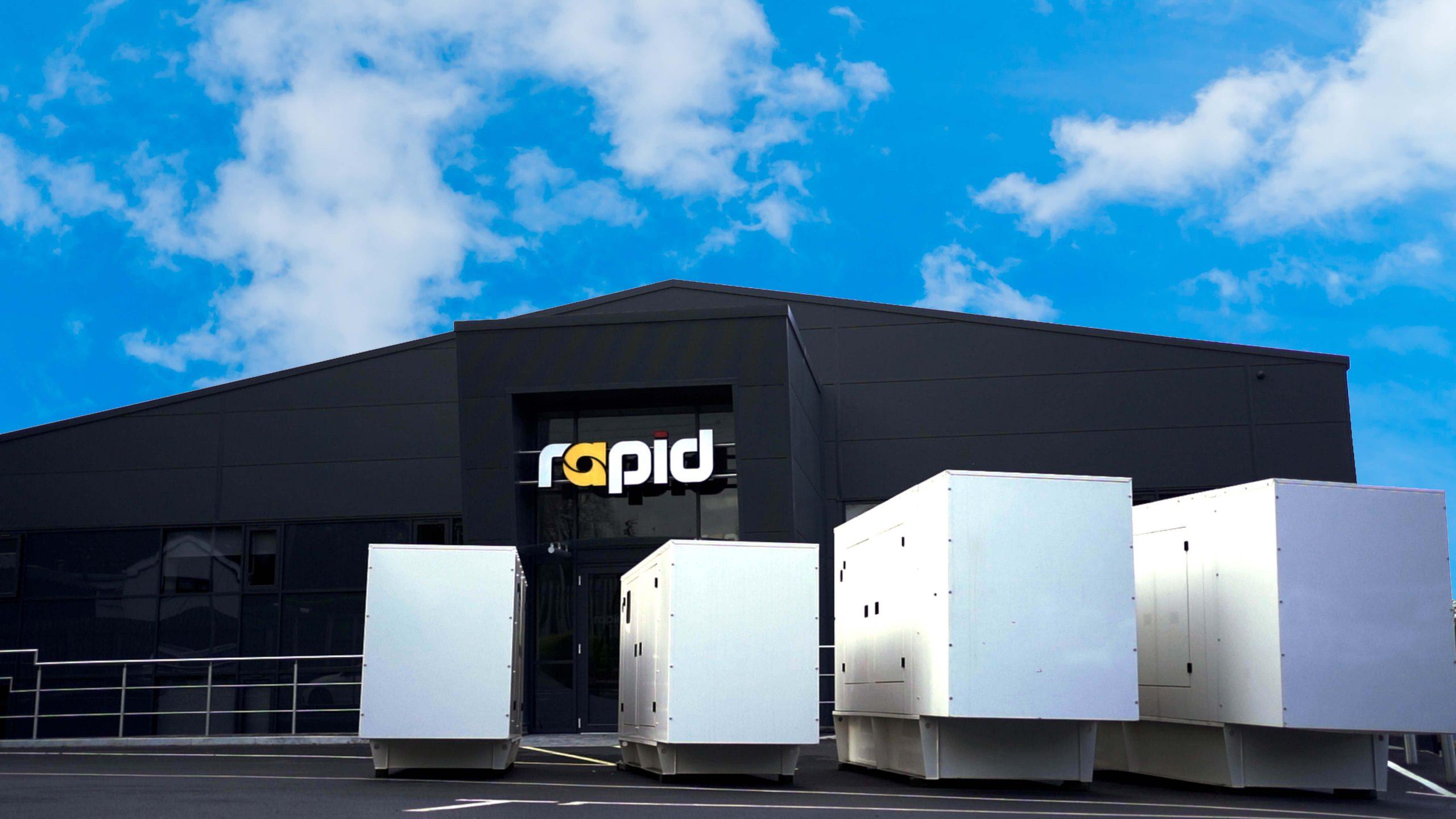 New Rapid International Rapid Power Generation Factory Extension
