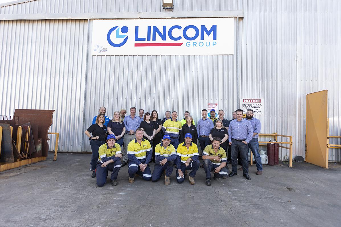 Lincom group staff images